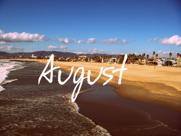 график на август месяц