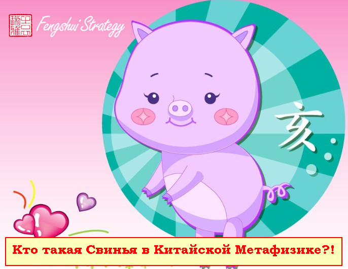 Кто такая Свинья в Китайской Метафизике?!