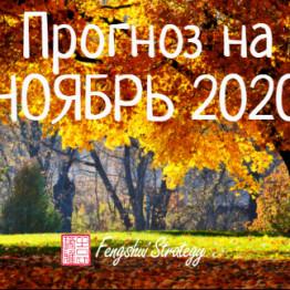 прогноз ноябрь 20
