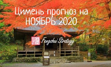прогноз на ноябрь 2020 цимень