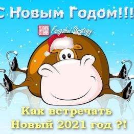 как встречать новый год 2021