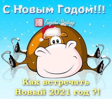 Как встречать Новый 2021 год — год Металлического Быка?